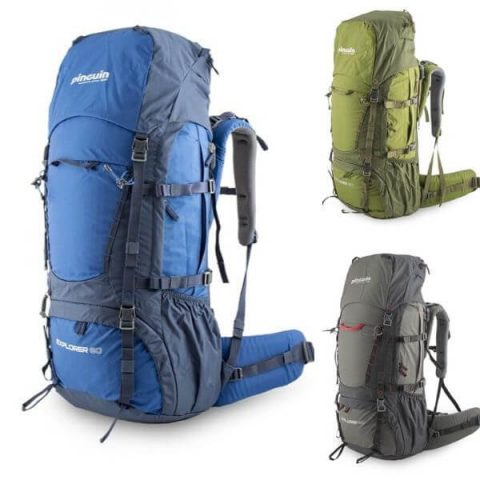 explorer 60 pinguin backpack