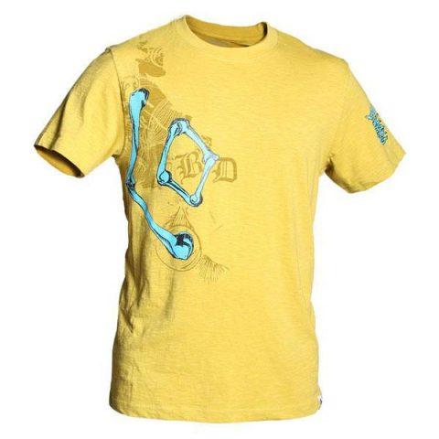 black-diamond-bone-tee yellow