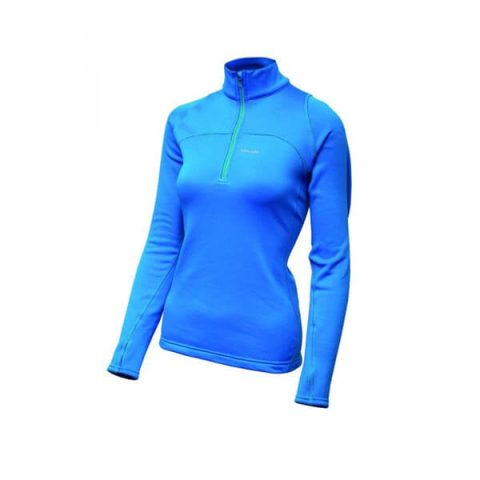 Power Lady Half Zip Pinguin blue