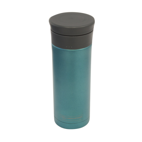 thermal mug blue