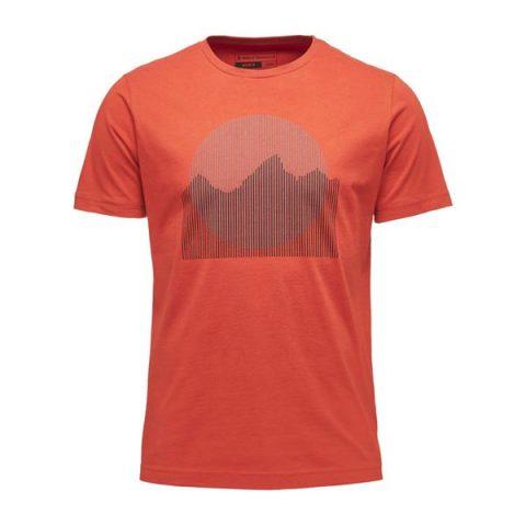 black diamond tee landscape t shirt