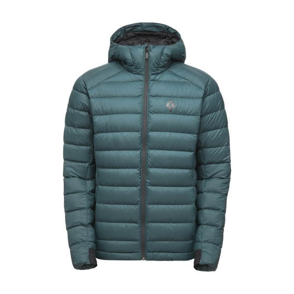 cold forge down hoody black diamond