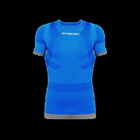 ισοθερμική μπλούζα κοντομάνικη blue