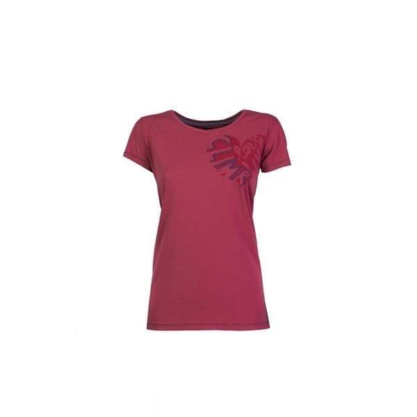 Γυναικείο T-Shirt brea deep claret