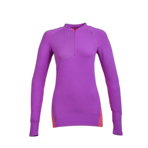 oxygen woman t-shirt-purple