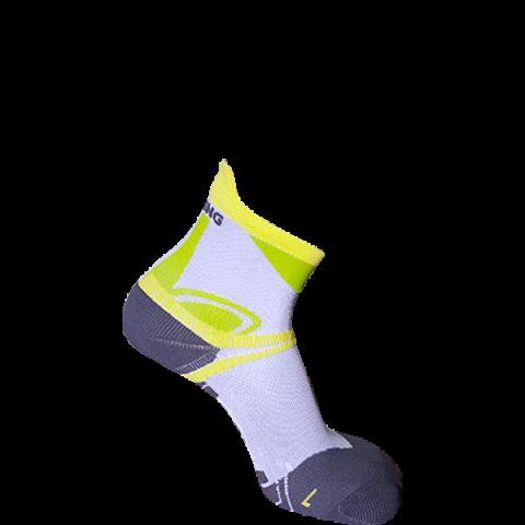 κάλτσα ultra trail κιτρινο