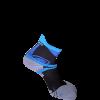 κάλτσα ultra trail blue