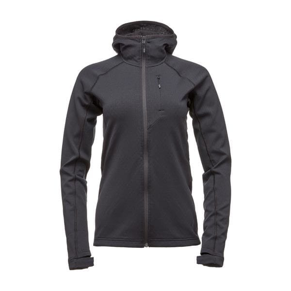 coefficient hoody flecce women black