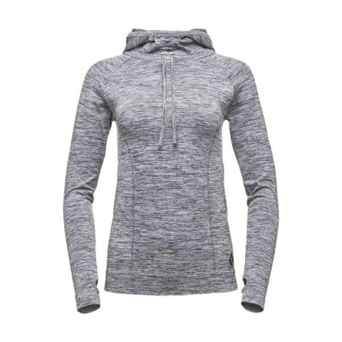 crux hoody women grey