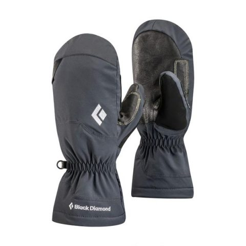 γάντια glissade mitts black diamond
