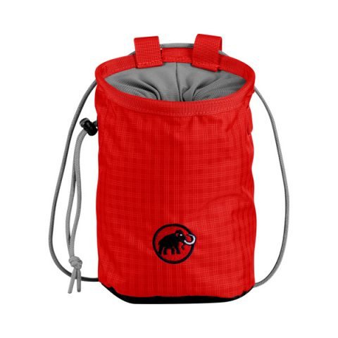 chalk bag mammut red