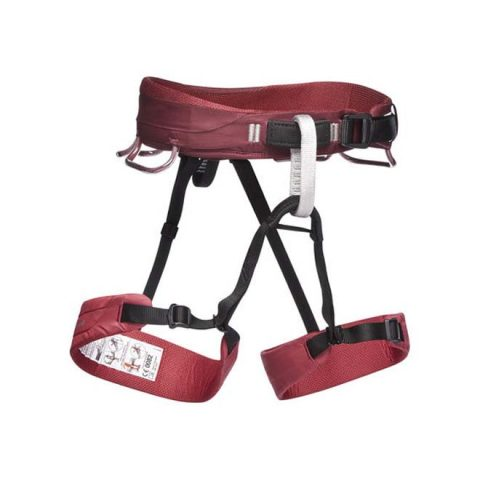 momentum harness women red