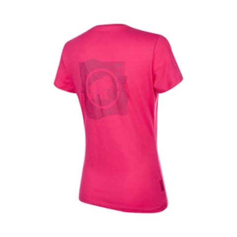 seile t-shirt w pink back