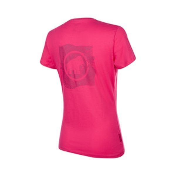 seile t-shirt w pink back