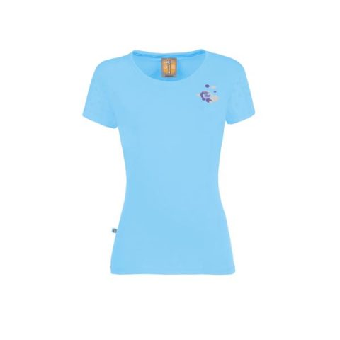 Drops t-shirt e9 sky women γαλαζιο