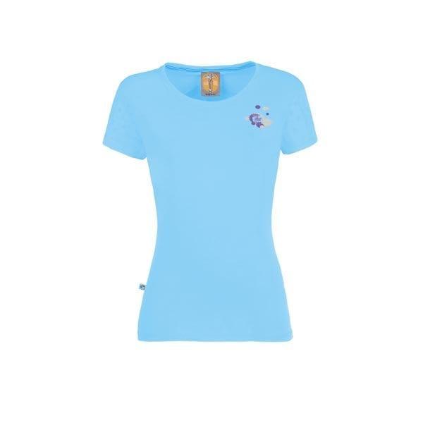 Drops t-shirt e9 women γαλαζιο