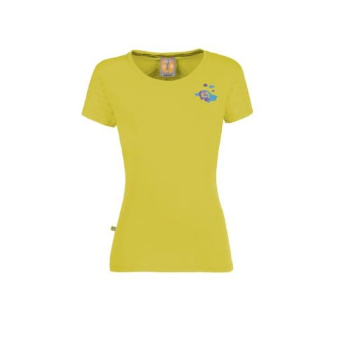 Drops t-shirt e9 lime women λαχανι