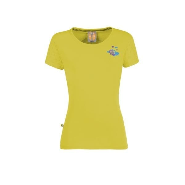 Drops t-shirt e9 women lime λαχανι