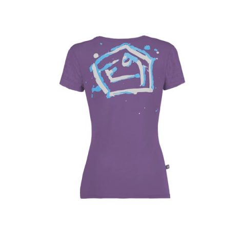 Drops t-shirt e9 women μωβ