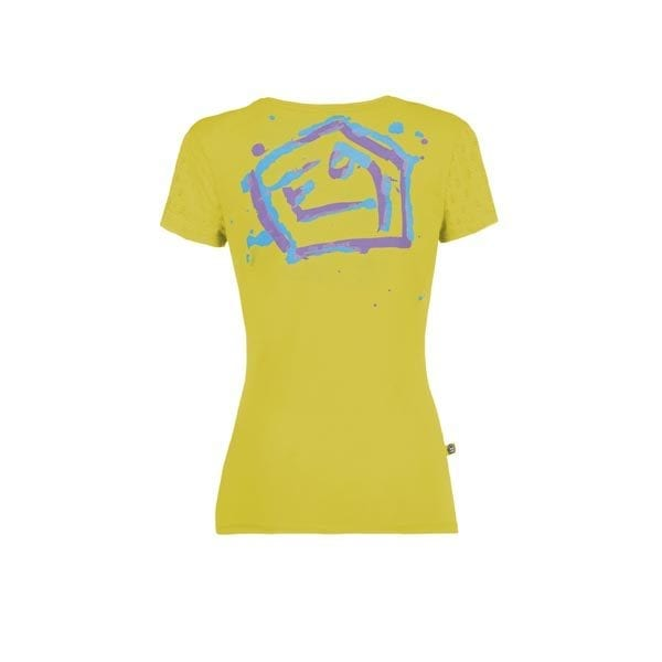 Drops t-shirt e9 women lime