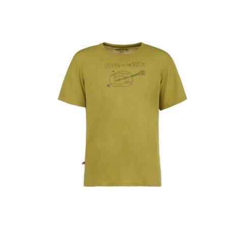 guitar tshirt e9 olive