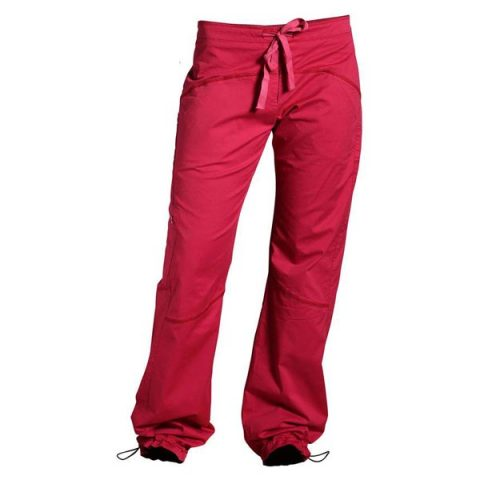 credo pants women red