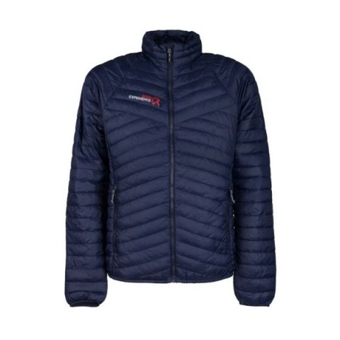 kalea padded man jacket blue