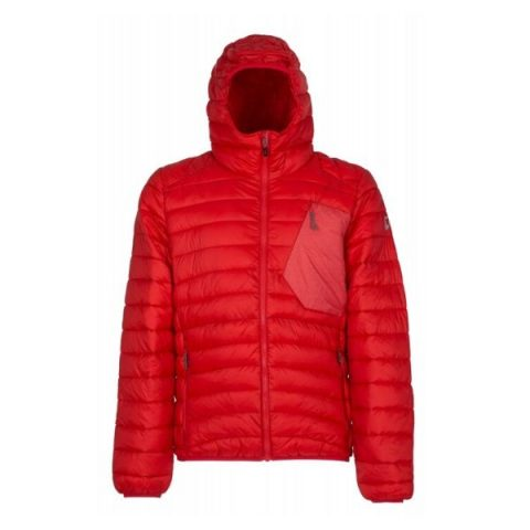 milo padded man jacket high risk red