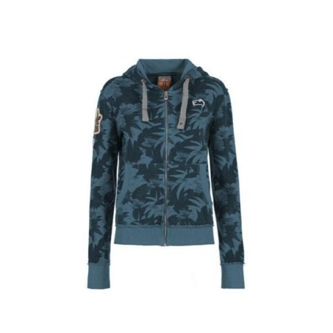 zeb deep blue fleece women e9