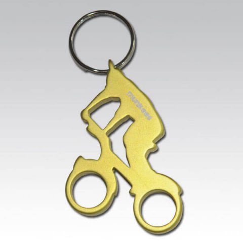munkees bottle opener cyclist 3527