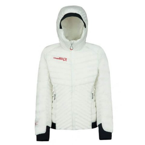 re.action woman jacket rock experience white