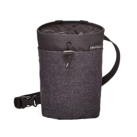 gym chalk bag smoke black diamond
