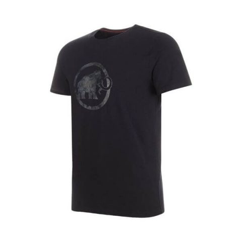 mammut logo t-shirt black