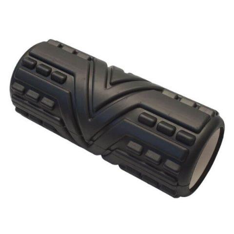 massage roller 33-x14-cm black