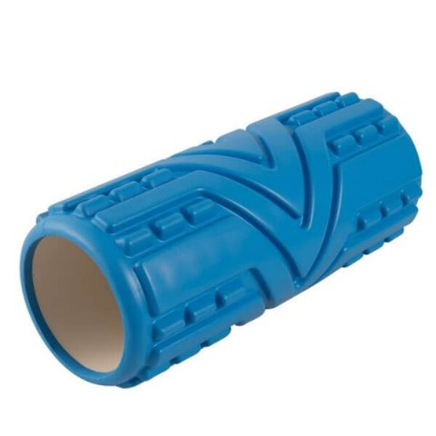 massage roller 33-x14-cm blue