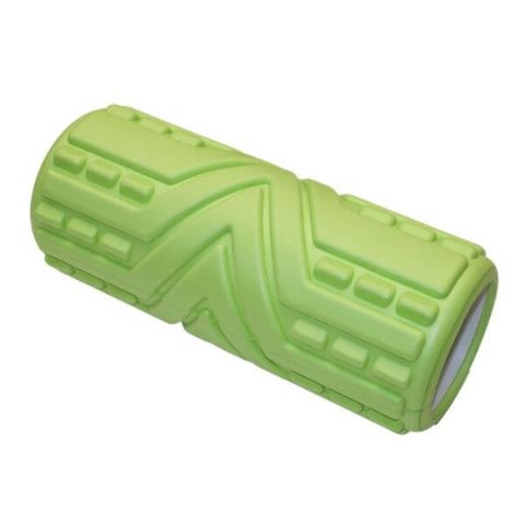 massage roller 33-x14-cm green
