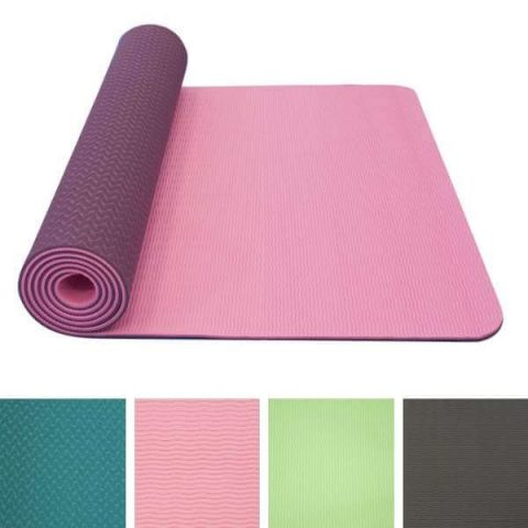 yoga mat double layer tpe mountain house