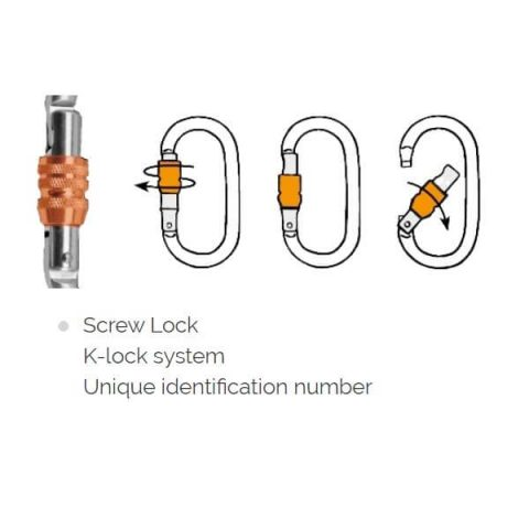 carabiner o s lock rock empire