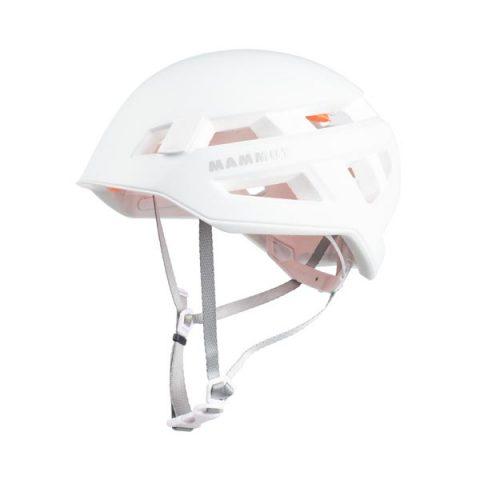 crag sender helmet mammut white