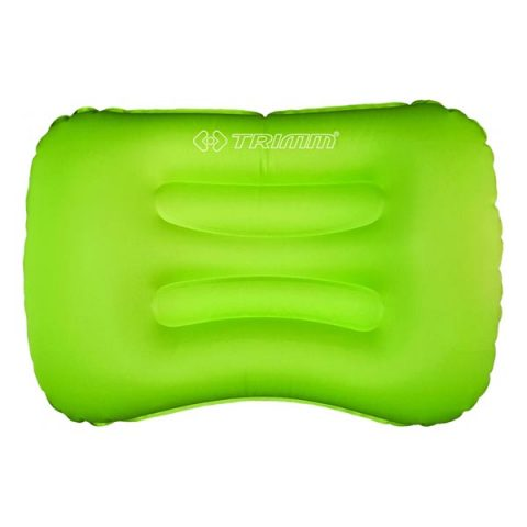 pillow rotto trimm green