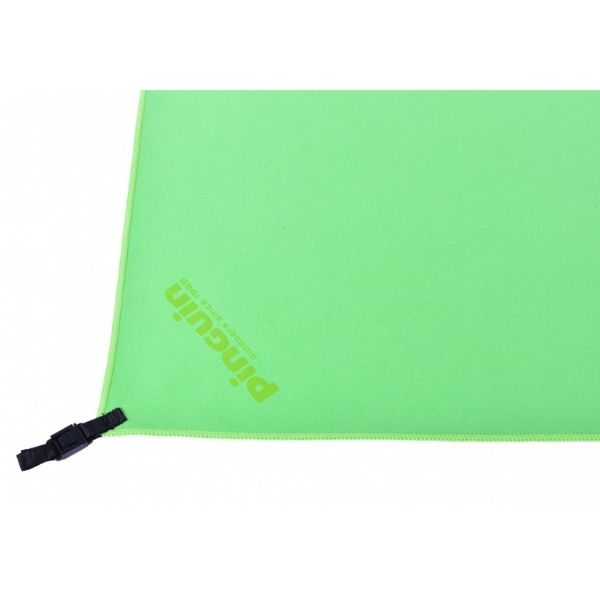 micro towel pinguin green