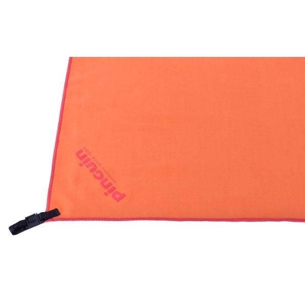 micro towel pinguin orange